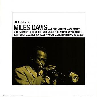Miles Davis - Prestige Poster Poster Print