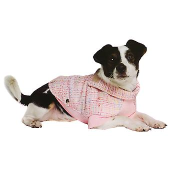 Ancol Pet Products Paris Tweed Pattern Dog Coat
