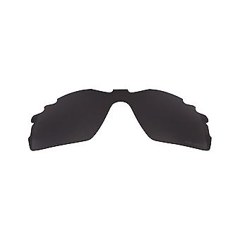 Replacement Lenses Compatible with OAKLEY VENTED RADAR PITCH Polarized Black