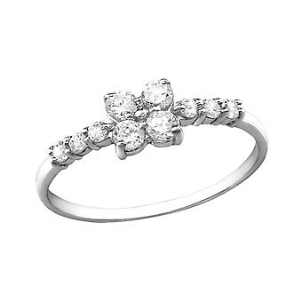Sparkling - 925 Sterling Silver Jewelled Rings