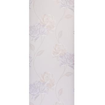 Dulux Peony Wallpaper Roll - Easy Hang Floral Design - Colour: 30-018