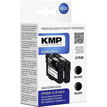 KMP Ink replaced Epson T1621, 16 Compatible Pack of 2