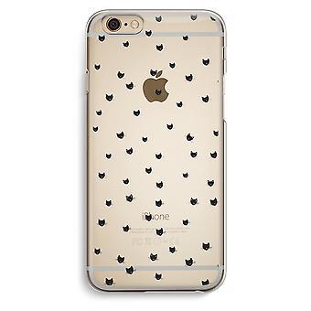 Iphone 6 6s Transparent Case (Soft) - Little cats