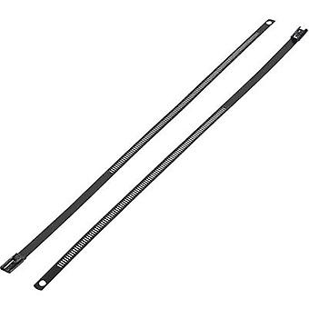 Cable tie 375 mm Black Coated KSS ASTN-375