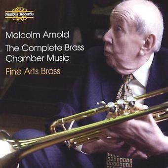 M. Arnold - Malcolm Arnold: The Complete Brass Chamber Music [CD] USA import