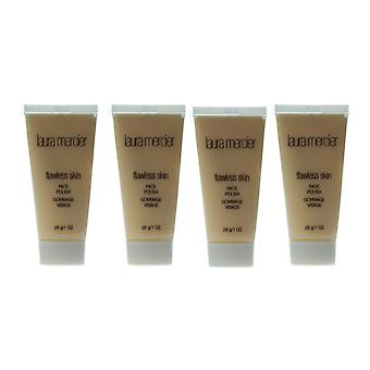 Laura Mercier 'Flawless Skin' Face Polish 1oz/28g New (PACK OF 4)
