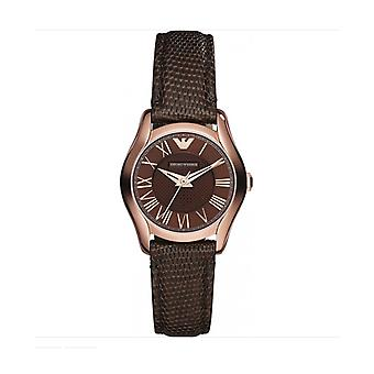 Emporio Armani Ladies Watch AR1714 RRP £229 Brown Rose Gold UK Warranty Sale Watches
