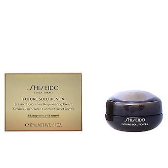 Shiseido futuro solução Lx Eye & Lip do Cream 17 Ml para as mulheres