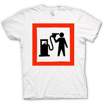 Mens T-shirt - Petrol Head Love Motors