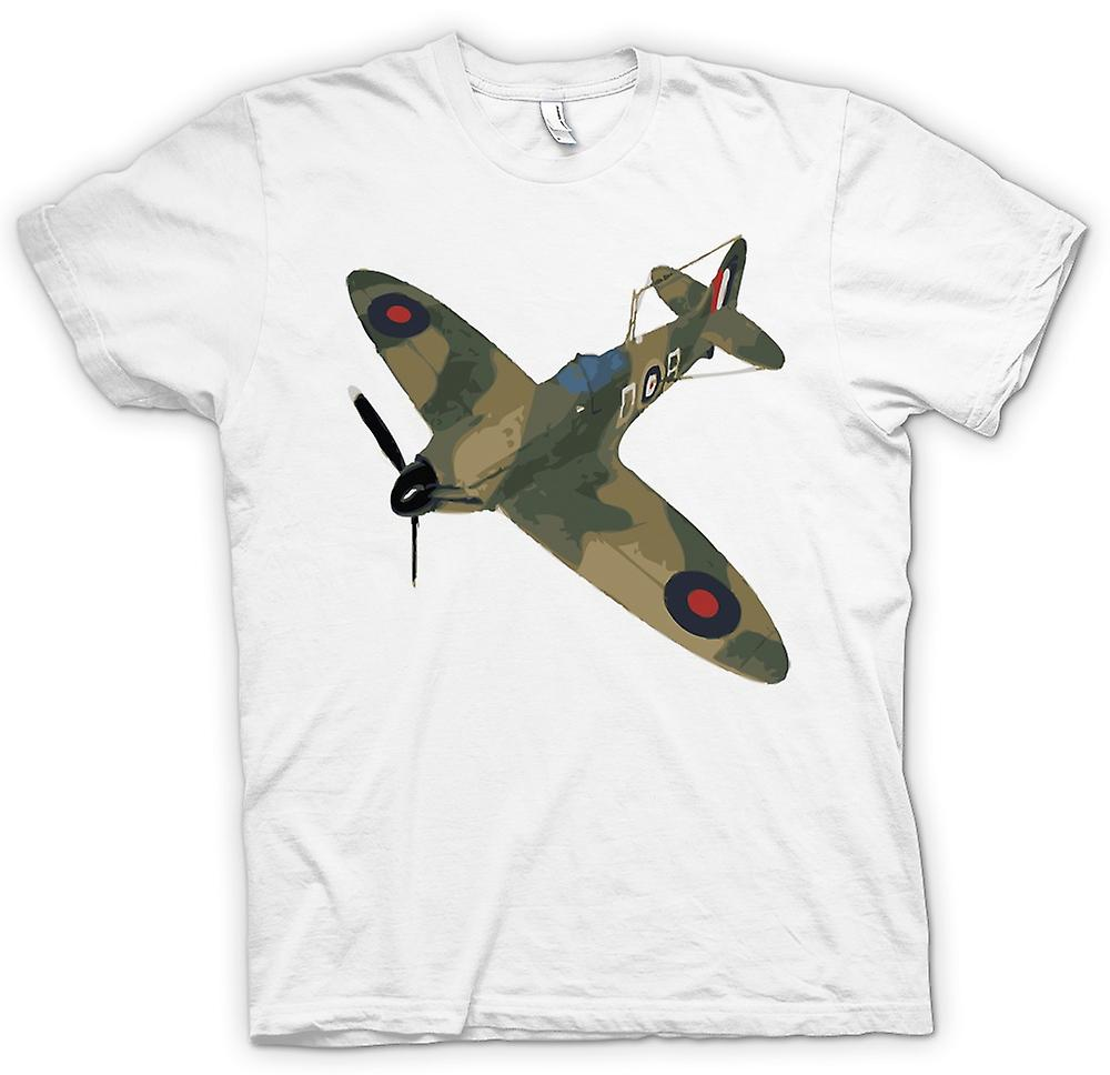 Femmes T-shirt - Spitfire vert Cam Pop Art - Quote