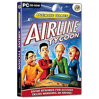 Ultimate Games Airline Tycoon (PC CD) - Factory Sealed