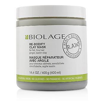 Matrix Biolage R.A.W. re Bodify ler maske (til flad fint hår) - 400 ml/14.4 oz