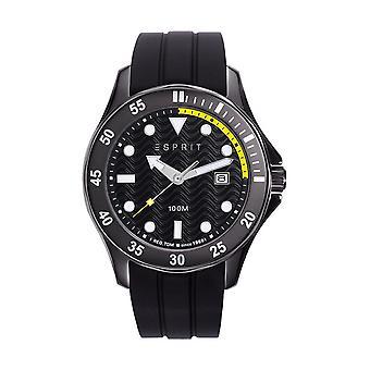 Esprit Herren Uhr Armbanduhr TP10883 Silikon ES108831001
