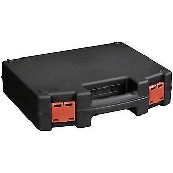 Tool box (empty) Alutec 56635 Plastic Black, Red