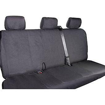 Eufab 28301 T5 3-er Seat covers 1-piece Polyester Black Back seat (3 people)