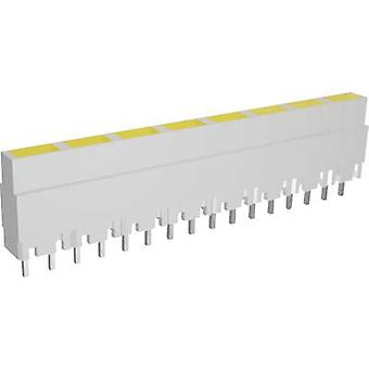 LED linear array 8x Yellow (L x W x H) 40.8 x 3.7 x 9 mm Signal