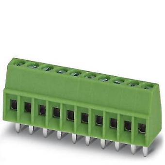 فينيكس الاتصال MPT 0.5/2-2,54 المسمار المحطة الطرفية 0.50 ملم ² عدد دبابيس 2 250 الأخضر pc(s)