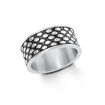 s.Oliver jewel mens ring band ring stainless steel bicolor 202263
