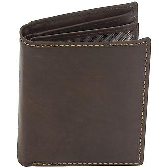 Friedrich pelle protezione di portafoglio in pelle marrone RFID molti soggetti