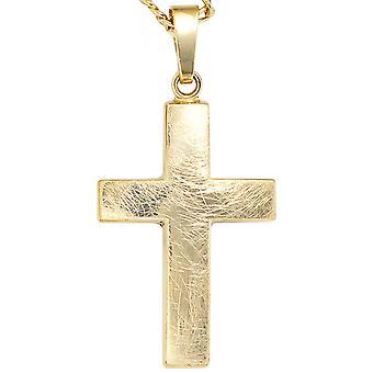 333 /-g-cross pendant-gold cross pendant pendant cross gold golden cross