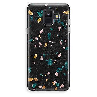 Samsung Galaxy A6 (2018) Transparent Case (Soft) - Terrazzo N°10