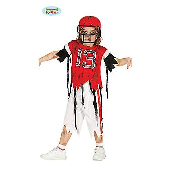 Zombie quarterback for childrens halloween scary horror football player Carnival