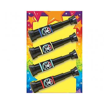 4 Pirate Telescopes -  Kids Party Bag Favours | Birthday Loot Bag Filler Favours
