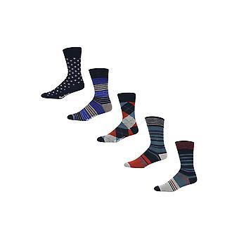 New Designer Mens Pepe Jeans Gift Socks Micky Gift Set