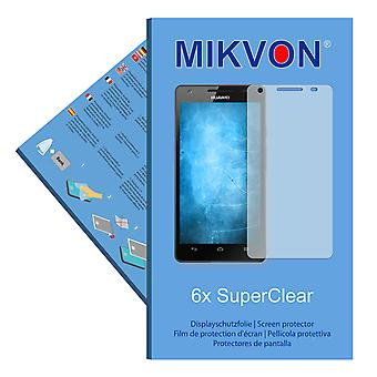 Huawei Honor 3 screen protector- Mikvon films SuperClear