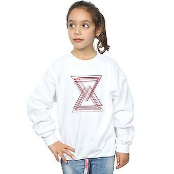 Marvel Mädchen Avengers Infinity Krieg schwarze Witwe Linien Sweatshirt