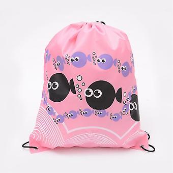 Gymnastik Tasche Rucksack rosa Fisch