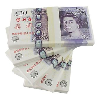 Play money-20 Pound (100 banknotes)