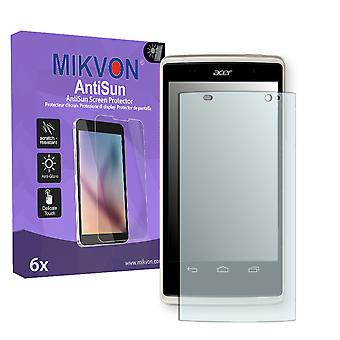 Acer Liquid Z500 Plus Screen Protector - Mikvon AntiSun (Retail Package with accessories)