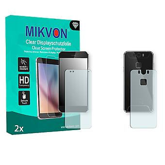 Gigaset ME Screen Protector - Mikvon Clear (Retail Package with accessories) (3x FRONT / 3x BACK) (reduced foil)