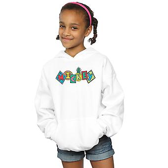 Disney Girls Mickey Mouse Fruit Blocks Hoodie