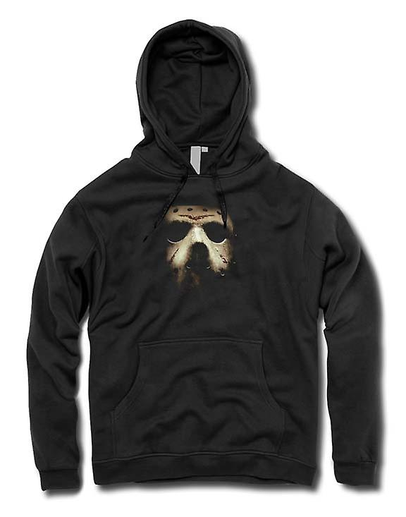 Mens Hoodie - Friday Th Hocky Mask Horror