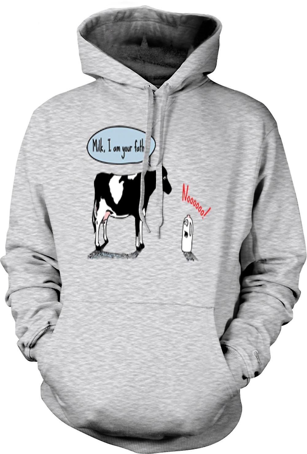 Mens Hoodie - Cow