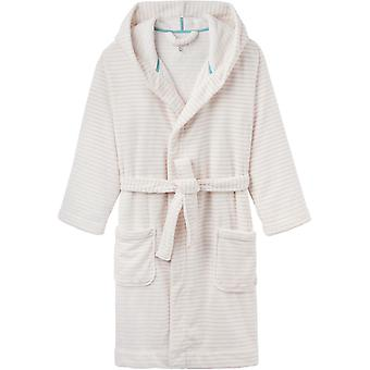 Joules Womens Rita Cosy Soft Fluffy Fleece Dressing Gown
