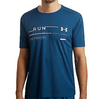 Unter Armour Herren Run Grafik leicht Feuchtigkeitstransport-T-Shirt