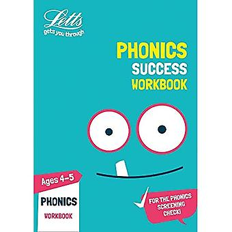 Phonics Ages 4-5 Practice Workbook (Letts KS1 Practice) (Letts KS1 Practice)