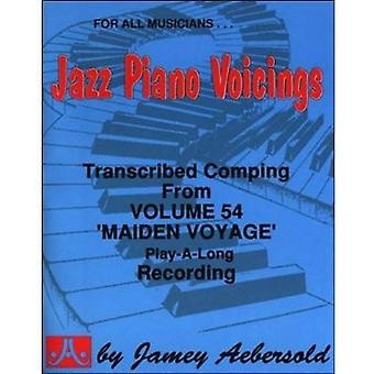 Transcribed Jazz Piano Accompaniment: from Jamey Aebersold's Vol.54 Maiden Voyage of Play-A-Long (Maiden Voyage)