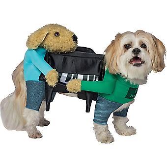 Costume di cane divertente con le braccia