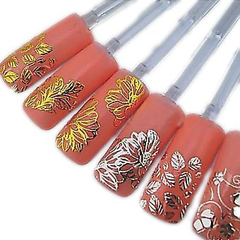 108st stickers flowers 3D nail decorations