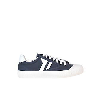 Céline Blue Fabric Sneakers
