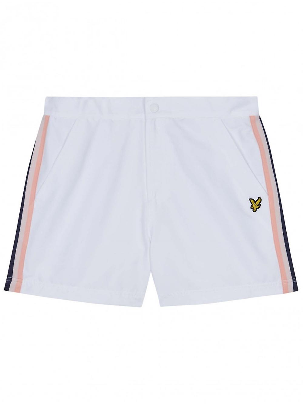 Lyle & Scott Lyle & Scott blanc Side Stripe nagent Shorts