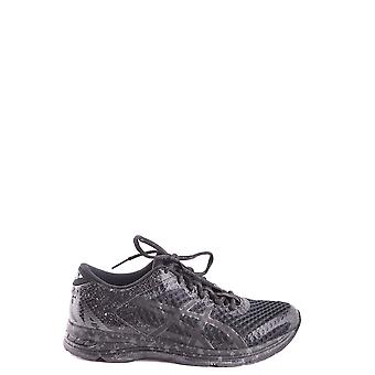 Asics Black Fabric Sneakers