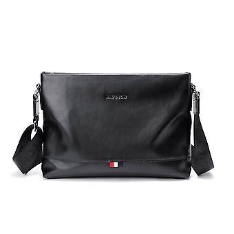 Black Landscape Messenger Bag 13.0