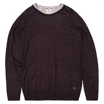 Scotch & Soda Crew Neck Pullover With Inner Tee