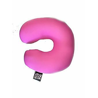 Hals pude microfiber pink