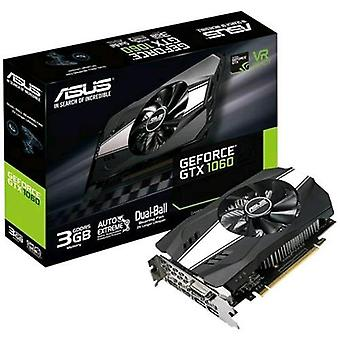 Asus ph-gtx1060-3g graphics card nvidia geforce gtx 1060 3gb gddr5 pci express 3.0 interface with fan